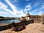 The walled city of Concarneau