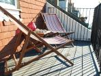 Chill out on the balcony great for those long summer evenings
