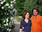Laura and Filippo at Ancora del Chianti Eco - Friendly B&B in Tuscany