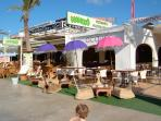 Javea has wonderful beachfront stalls, bars, and restaurants