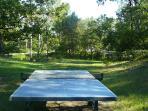 Table de ping-pong, Villa Victoria à Gréasque