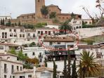 Aquí está situado, en pleno Albaycin y muy cerca del centro de Granada