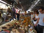 Visit Provencale market in Antibes