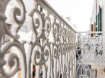 Deneb - Sul balcone privato