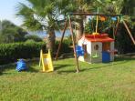 Children's corner in the villa by the beach