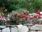 Chalet Clos Piton - vue jardin 1