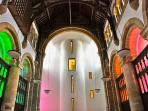 Atrium leading to Chapel Pool