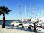 Marina port of ayamonte, up to fishing/sailing?