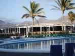 Pool and bar at Las Brisas