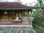 Beautiful old teak wood villa