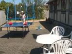 TABLE TENNIS, DARTS, SWINGBALL,TRAMPOLINE, BOULES,CRICKET, CROQUET,AND INDOOR GAMES.