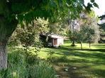 Le parc ,Saint Restitut au village