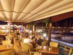 A favourite of ours, 'Lanis Snack Bar, at the Marina Rubicon, Playa Blanca.