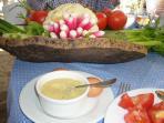 Aioli & Crudites - Bon Appetit Provencal Style
