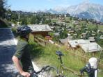 Nendaz - location of Chalet Campanella