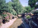 River flowing through Fodele