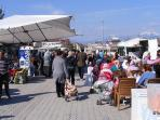 Fethiye market, this is a huge local market close to Fethiye Harbour and all it's shops and bar