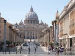 Basilica di San Pietro, Cappella Sistina, via della Conciliazione