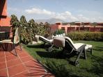 Patio & Sun Loungers (3 provided) - Rear Garden
