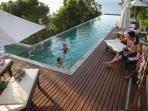 Lord Jim Retreat Koh Phangan Pool Villa for rental - Relax at pool's deck