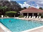 Enjoy the private community pool and club house just steps from the unit