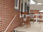 Back Deck with wheelchair access
