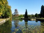 Explore the park-we do daily- it's a beautiful walk!