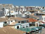 Roof tops view of 'Old town' Albufeira