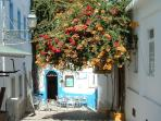 The quaint 'Old town' Albufeira