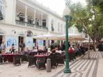 Nearby attraction: cafes near Baltazar Dias Theater