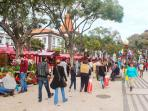 Nearby attraction: promenade at Avenida Arriaga