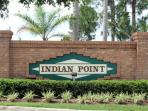 Indian Point - Welcome Sign