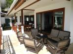 Lord Jim Retreat Koh Phangan Pool Villa for rental - Terrace Living