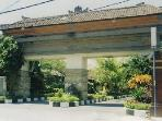 Kuta Royal Entrance with 24 hour security