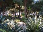 Close to the Pinède park, perfect for an warm evening stroll