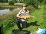 Carp landed from the dam end of the lake.