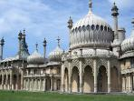 Brighton Pavilion -  former residence of George IV. Photo Jim Linwood