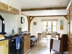 kitchen and dining - the AGA experience awaits !