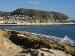 Moraira - charming town, castle, beach and marina