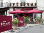 Our wine bar & bistrot in Place Saint Pierre, Saumur (visit TripAdvisor for reviews)