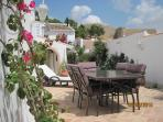 House & Garden with Alcazaba in the background