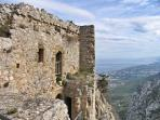 Why not enjoy the superb views of the Karpas from Kantara Castle
