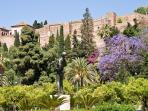 The Moorish fortress is just 300 meters away from the flat. A smaller version of Alhambra