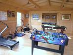 New Games Room & Gym