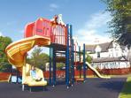 Children's play area.