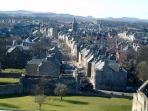 The fabulous medieval town of St Andrews is a 15 minute drive.