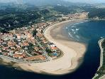 Playa de Santa Marina en Ribadesella.