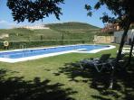 Pool 2 & Gardens Overlooking Golf Course