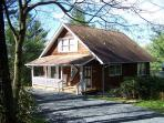 Campbell Cottage is Blowing Rock living, cottage style, minutes from downtown