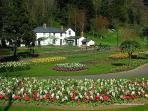 Trenance gardens and boating lake are only ten minutes drive away